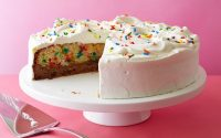 Celebrate birthdays with a delicious cake